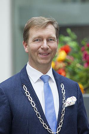Portret burgemeester Gert-Jan Kats